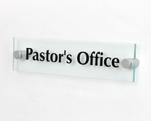 2x8 Custom ClearBoss Signs