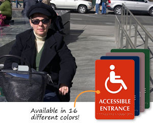ADA Braille Accessibility Signs