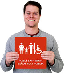 Bilingual Braille Signs