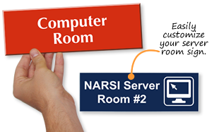 Computer Room Signs