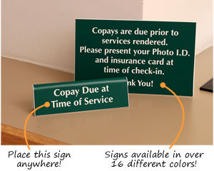 Copay Signs