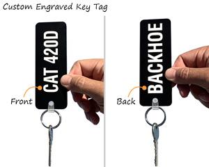 Custom Engraved Key Tag