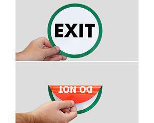 Do Not Enter Door Decals