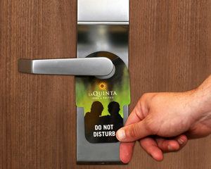 Custom Door Lock Inserts Tags