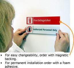 Stacking Door Signs | Stacking Magnetic Door Signs