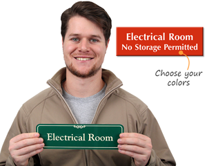 Electrical Room Signs