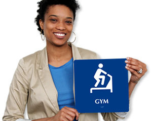 Fitness Room & Gym Signs