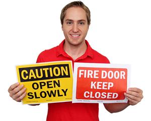 Free Door Signage