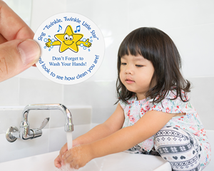 Children Bathroom Decal For Schools
