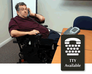 Handicapped Accessible Telephone Signs