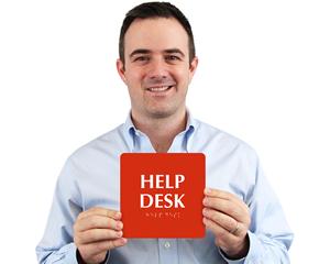 Help Desk Signs