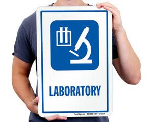 Medical Lab Sign