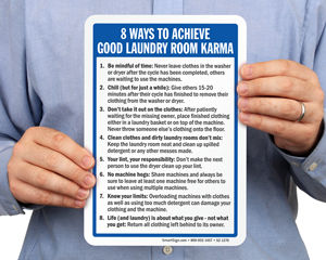 Laundry Room Signs Tips