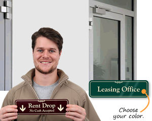 Leasing Office Signs