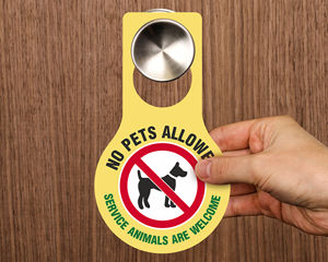 Pet Related Door Hangers