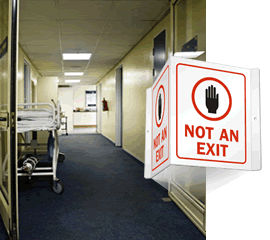 Not An Exit Signs