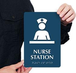 Nurse Station Door Signs