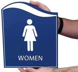 Pacific Bathroom Signs