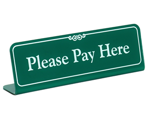 Payment Signs