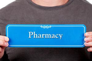 Pharmacy Door Signs