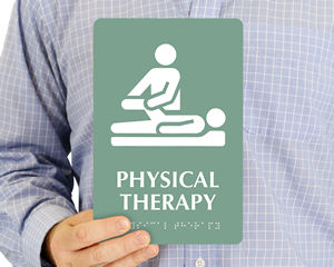 Physical Therapy Room Sign