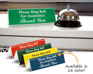 Please Ring Bell Signs