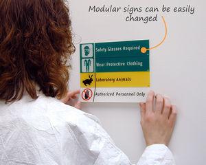 School Lab Safety Signs
