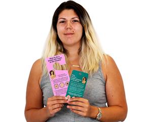 Breast Self-Examination Tags