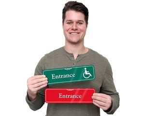 Showcase Entrance Door Signs
