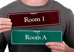 Room Number Signs