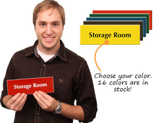 Storage Room Signs and Stock Room Signs