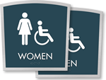 Apex Bathroom Signs