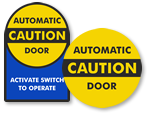 Automatic Door Decals