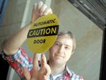 Automatic Door Decals