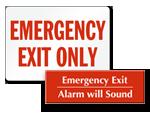 Looking for Emergency Door Signs?
