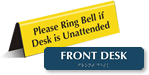 Front Desk Signs
