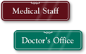 Medical Office Signs