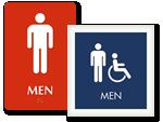 Designer Restroom Signs