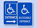 Accessible Door Signs