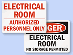 OSHA Electrical Room Signs