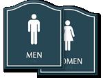 Santera Bathroom Signs