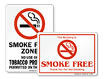 Smoke Free Signs & Labels