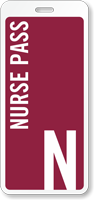Nurse Pass ID For Schools