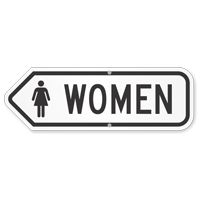 Women Restroom Sign