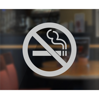 No Smoking Symbol - No Smoking Label