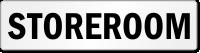 Storeroom Door Label