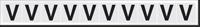 New York City Fire Emergency Markings Letter V Reflective Label, 1 inch