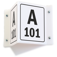 Custom Safety Projecting Sign - A 101
