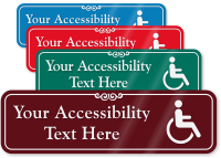 Accessibility Symbol Sign