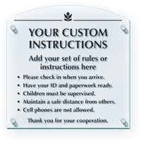 Add Custom Instructions And Rules Here ClearBoss Sign